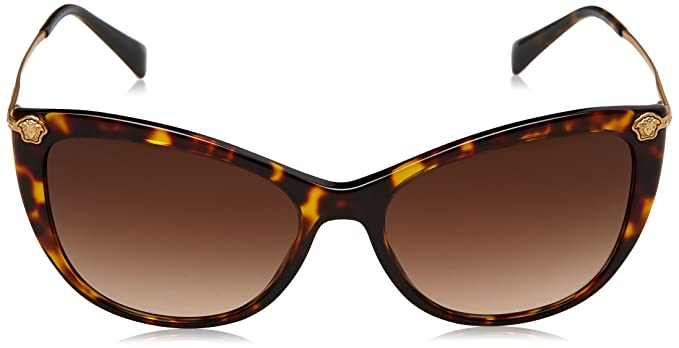 cf7886c7ad Versace Women s Gradient VE4345B-108 13-57 Brown Butterfly Sunglasses   Versace  Amazon.ca  Clothing   Accessories