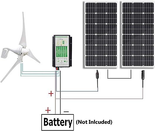 12 Volt 400 Watt Solar Wiring Diagrams