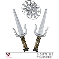 Widmann 01205 Waffenset Ninja, Unisex-Adult, One Size