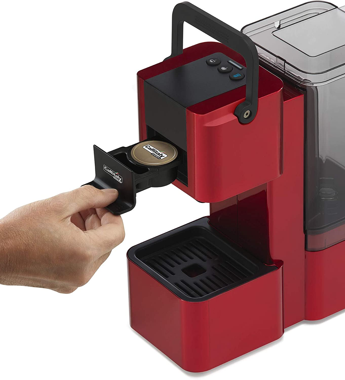 Máquina Café Caffitaly Iris roja + 60 Cápsulas mixtas (): Amazon ...