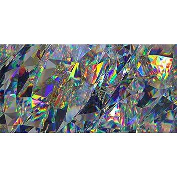 Abstract Crystal Background 9x6ft Rainbow Texture Vinyl Amazon In