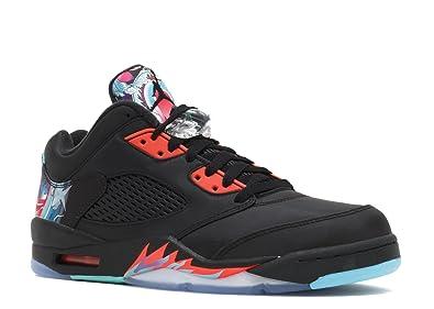 ee324fd2582 Nike Air Jordan 5 Retro Low CNY 840475 060 Chinese New Year  Amazon ...
