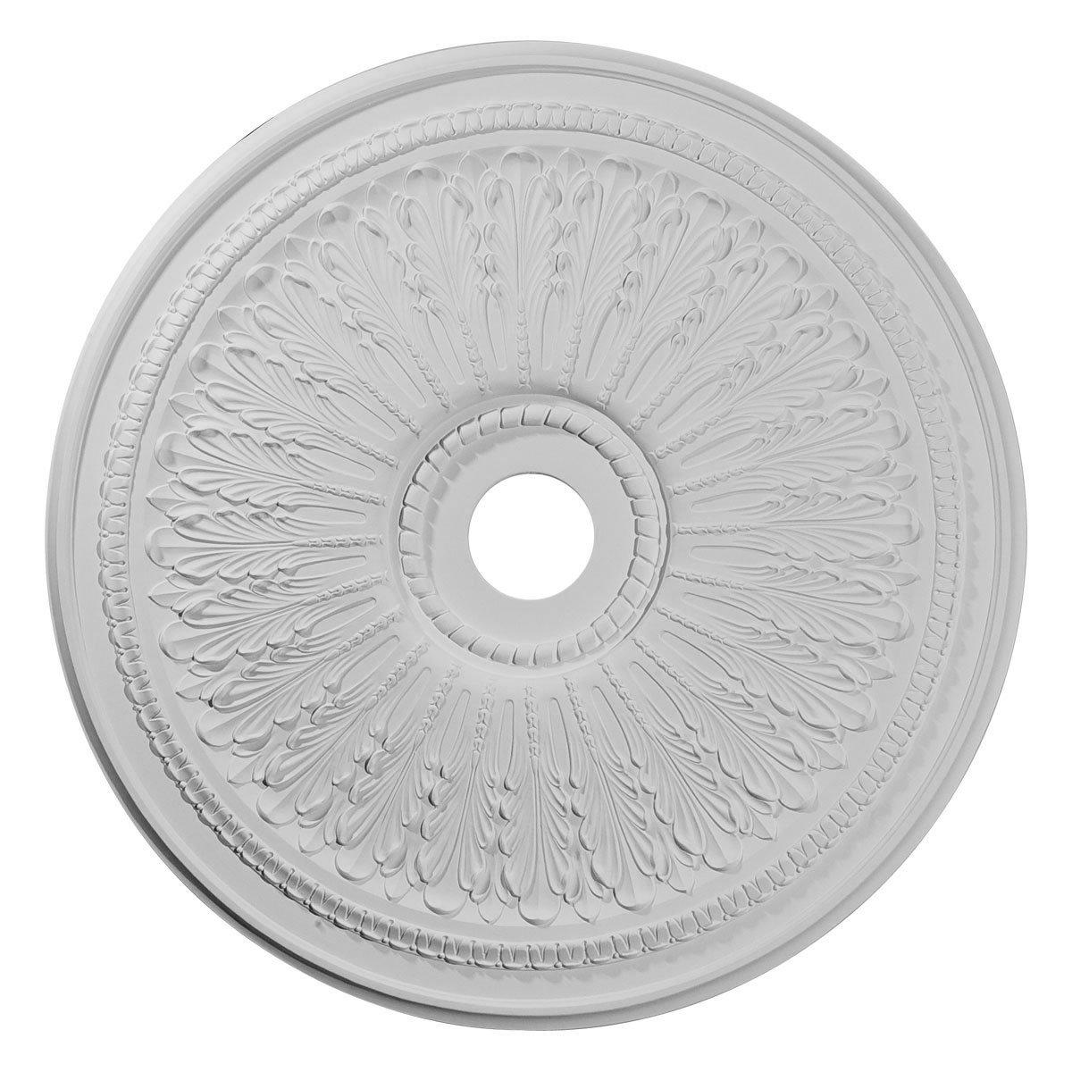 Ekena Millwork CM29OA 29 1/8-Inch OD x 3 5/8-Inch ID x 1-Inch P Oakleaf Ceiling Medallion