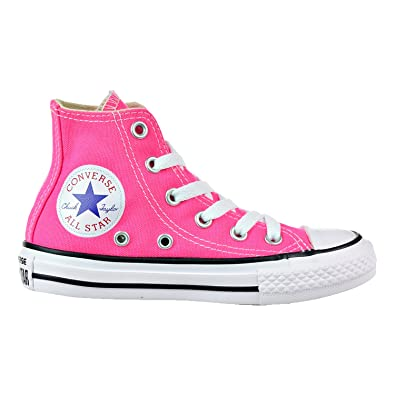 6f7c8ee5deaf Converse Kids All Star HI Youth Pink POW Size 2