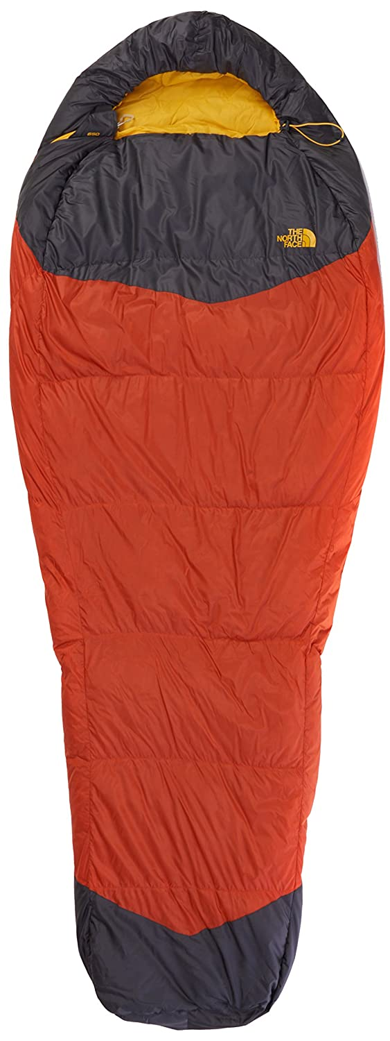 The North Face Schlafsack Gold Kazoo Saco de Dormir, Unisex, Naranja/Gris, Long: Amazon.es: Deportes y aire libre