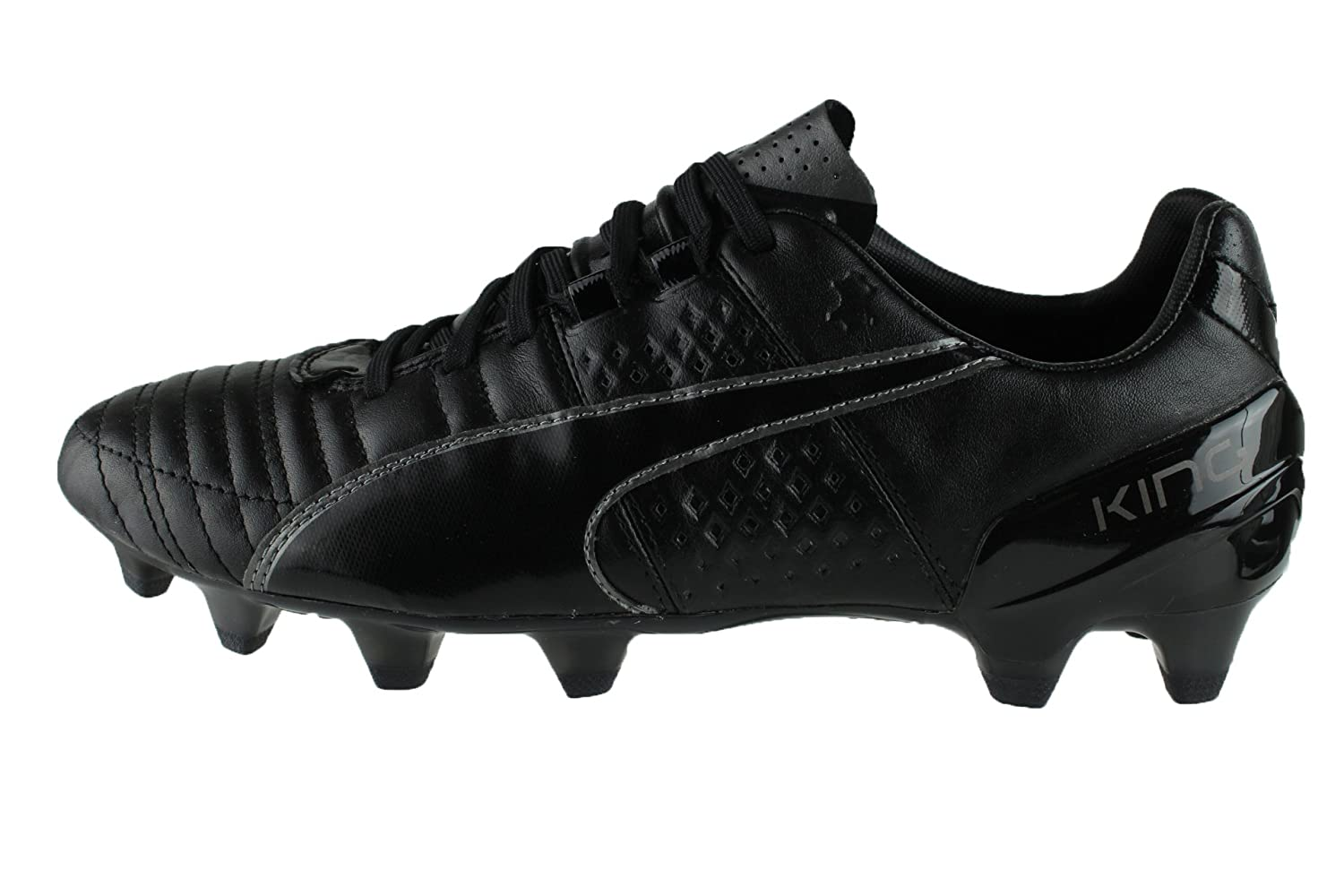 Puma King II FG F03 black silver Size 6  Amazon.co.uk  Sports   Outdoors b077996c7