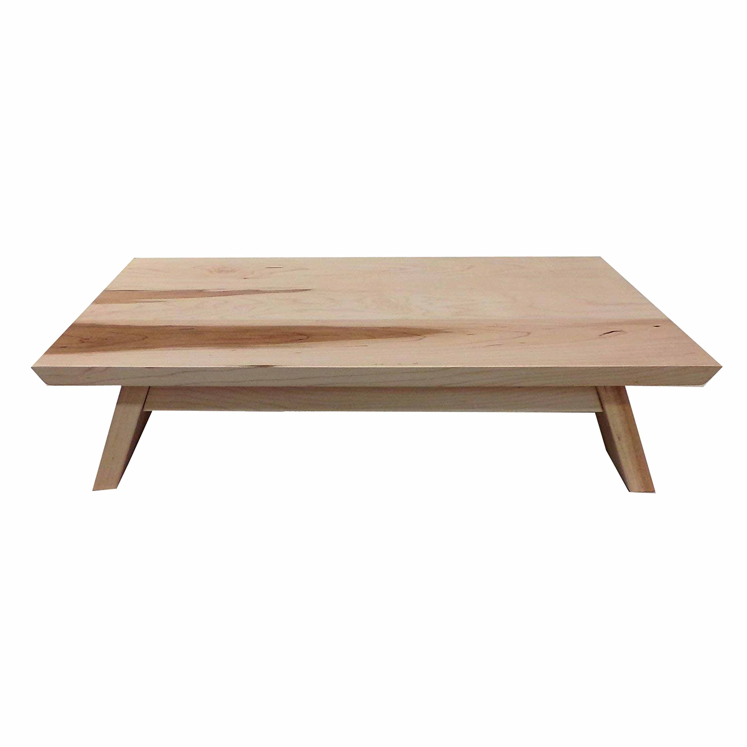 MAINE 'COASTAL' MAPLE ~ EarthBench Personal Shrine Table: Large Sized Personal Low Altar (7'' inches tall ~ 23.5'' by 13.5'') by EarthBench