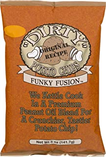 product image for Dirty Brand Potato Chips 5-oz Bags (Pack of 6) (Funky Fusion)