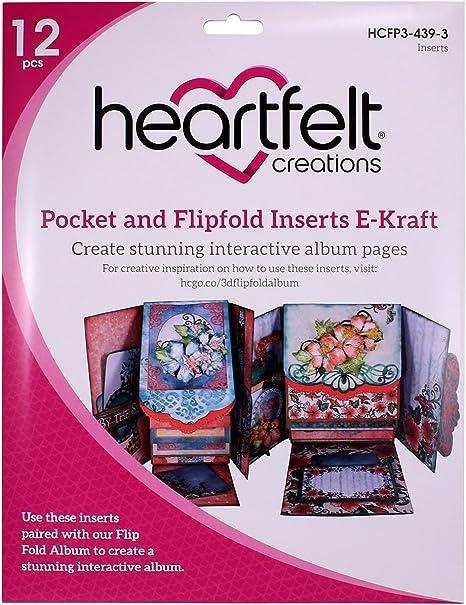 Heartfelt Creations E-Kraft Flipfold Inserts