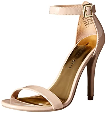 5a376cd401e Madden Girl Women s DAFNEY Dress Sandal Nude Patent 10 M US