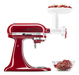 KitchenAid KSMFGA Food Grinder Attachment, One Size, White