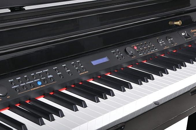 Artesia AG-40 Grand Piano Digital Deluxe Bundle: Amazon.es ...