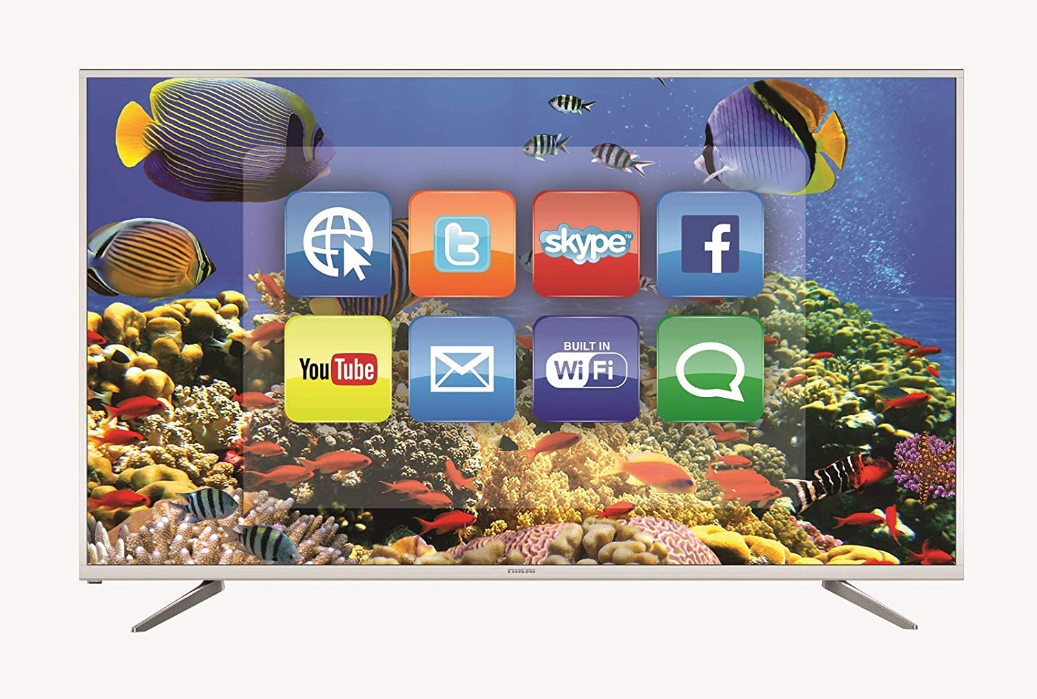 Nikai 55 Inch 4K UHD Android LED TV