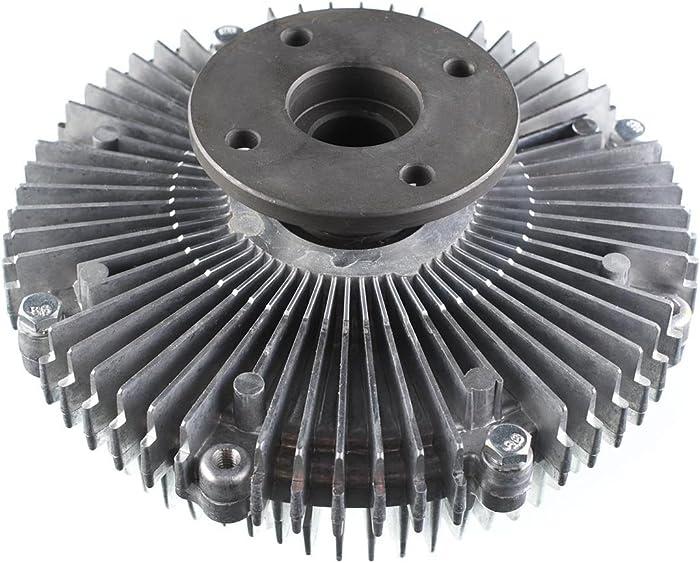 A-Premium Engine Cooling Fan Clutch for Infiniti QX56 2004-2010 Nissan Armada 2005-2015 Pathfinder NV2500 NV3500 Titan Suzuki Equator