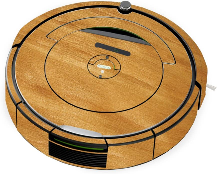 MightySkins Skin Compatible with iRobot Roomba 690 Robot Vacuum - Birch Grain | Protective, Durable, and Unique Vinyl Decal wrap Cover | Easy to Apply, Remove, and Change Styles | Made in The USA