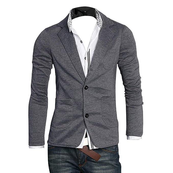 miglior servizio 3e513 0fe20 Giacche da Uomo Eleganti da Uomo Slim da Abbigliamento Fit ...