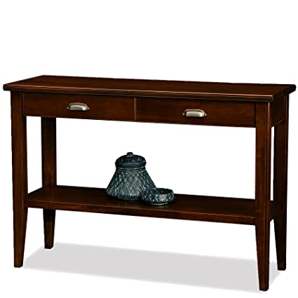 Leick Laurent 2 Drawer Hall Console Table