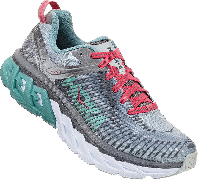 Hoka Arahi 2, Zapatillas de Running por Mujer, Gris (Steel/GrayMetal), 40 2/3 EU: Amazon.es: Zapatos y complementos
