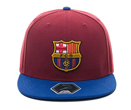 4cfc912779c Amazon.com   Fi Collection FC Barcelona Officially Licensed Fitted ...