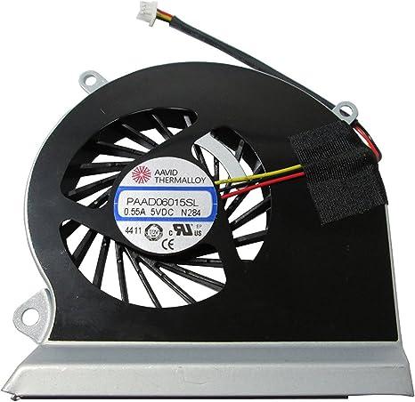 MSI GE60 16GA 16GC Procesador del ordenador portátil ventilador ...
