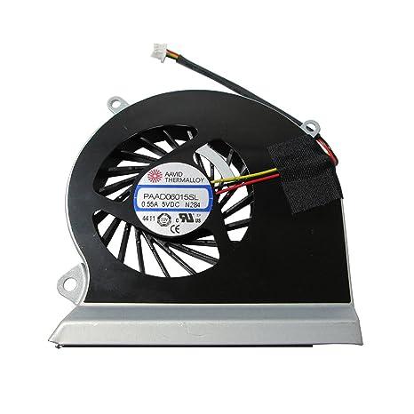 MSI GE60 16GA 16GC Procesador del ordenador portátil ventilador, refrigerador