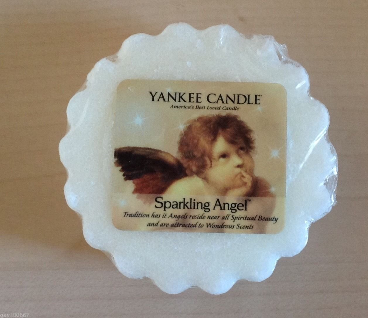 Yankee Candle Sparkling Angel Tart - Single