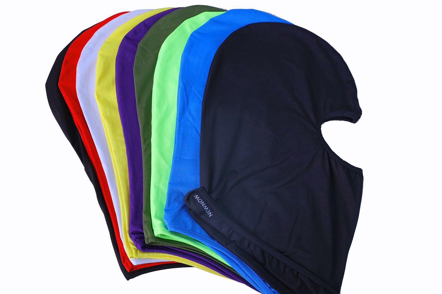 NewNow Candy Color Ultra Thin Ski Face Mask - Great Under A Bike / Football Helmet -Balaclava-White by NewNow (Image #6)