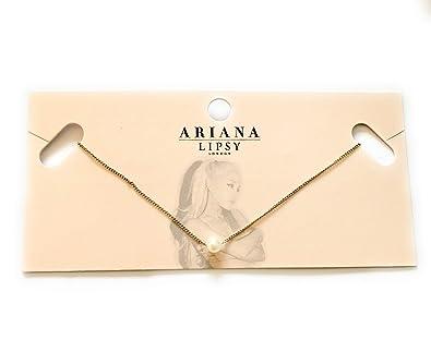 9db9c282e23 Ariana Grande Lipsy London Pearl Necklace: Amazon.co.uk: Jewellery