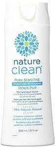 Nature Clean Pure Sensitive Conditioner, Hypoallergenic, Fragrance-Free, 10 fl. oz.