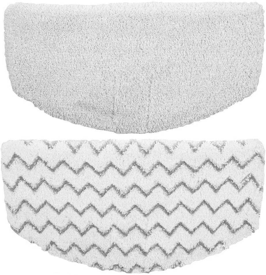KHTO Steam Mop Pads Replacement for Bissell Powerfresh Steam Mop 1940 1440 1544 Series, Model 19402 19404 19408 1940A 1940Q 1940T 1940W, Replace 5938 (2-Pack)