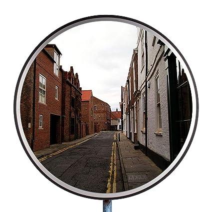 5e8111bf3d Espejo de Tráfico Espejo de Seguridad Überwachungsspiegel Vigilancia Espejo  Panorámico Convexo Policarbonato de Espejo 30 cm