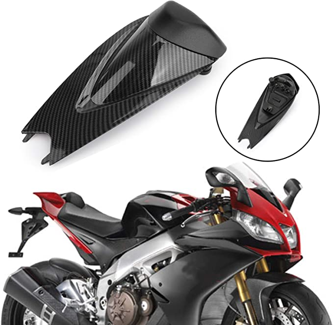 Artudatech Motorbike Rear Seat Cover Cowl Passenger Pillion Motorcycle Seat Cowl Fairing Tail Cover for K-A-W-A-S-A-K-I Ninja ZX10R ZX 10R 2011-2015