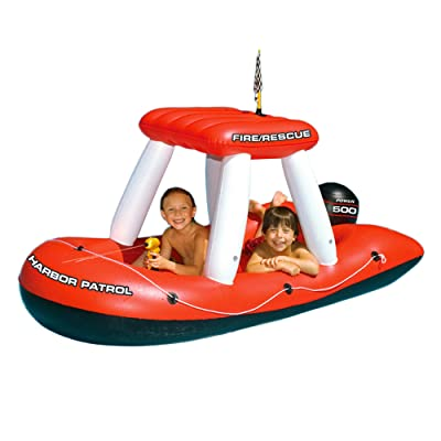 Swimline Fireboat Squirter Inflatable Pool Toy: Toys & Games
