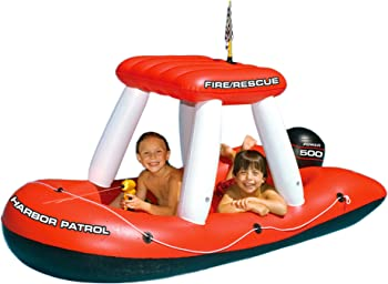 Swimline Fireboat Squirter Inflatable Pool Toy for Kids