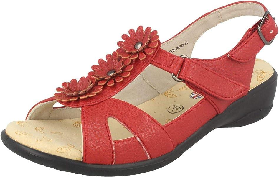Ladies Padders Adjustable Sandals Madeira