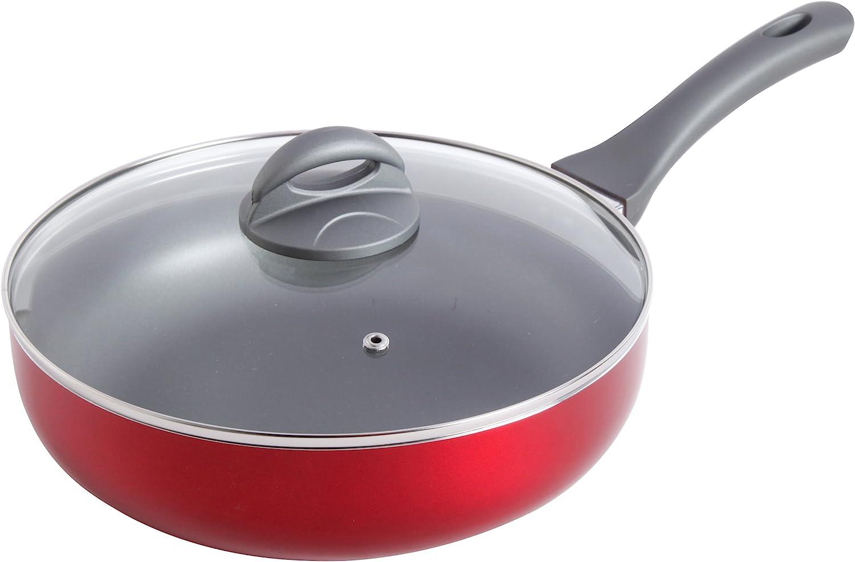 Oster 75664.02 Clairborne 2.5 Quart Aluminum Non Stick Sauce Pan with Lid Grey