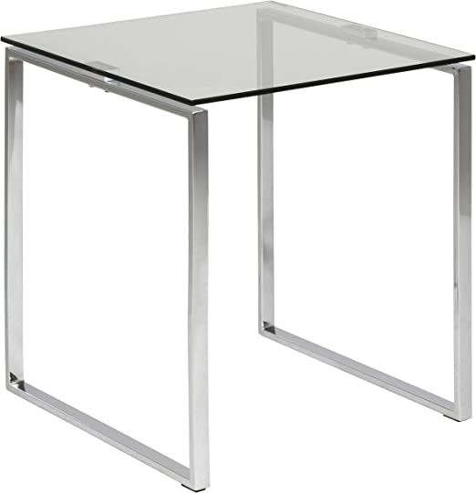 Amazon Brand - Movian Somes - Mesa auxiliar para lámpara, 50 x 50 ...
