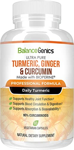 BalanceGenics Turmeric and Ginger plus Curcumin