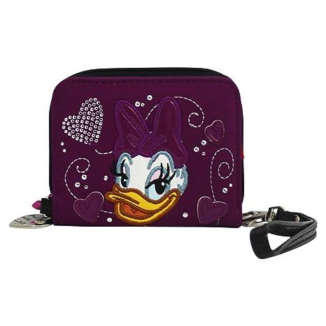 Disney Daisy Bolsillo por Mujer Monedero Cartera: Amazon.es ...
