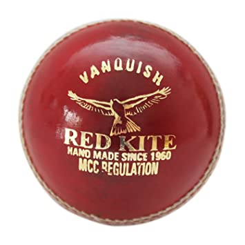 Cricket Ball Premium Red Leather Cricket Balls Junior Senior Sizes Four Pieces Of Hand Dyed Stitched Leather Crafted To Make A Truly Premium