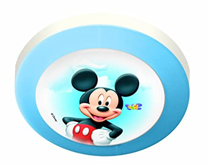 Magic Light Official Disney Round Ceiling Light, Mickey And Minnie ...