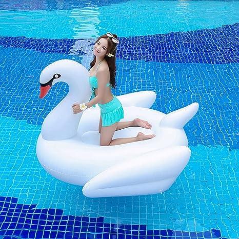 Cisne Anillo De Natación Adultos Inflable,Grande Swim Ring ...