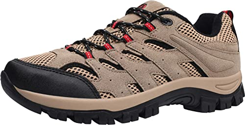 4044efeba6073 L-RUN Mens Hiking Shoes Men's Outdoor Sports Shoes Breathable Running Shoes