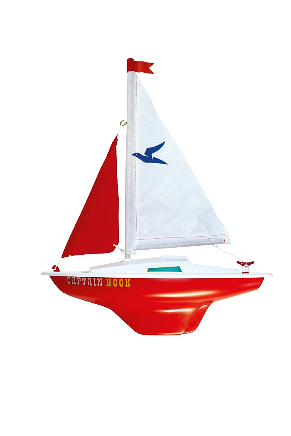 Guenther 1830 25 cm Captain Hook Sailing Boat Model: Amazon.co.uk: Toys &  Games