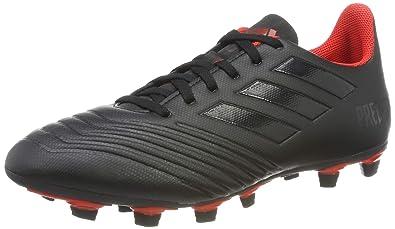 the best attitude 6286e e9f72 adidas Predator 19.4 Fxg, Herren Fußballschuhe, Schwarz (Core Black Active  Red)