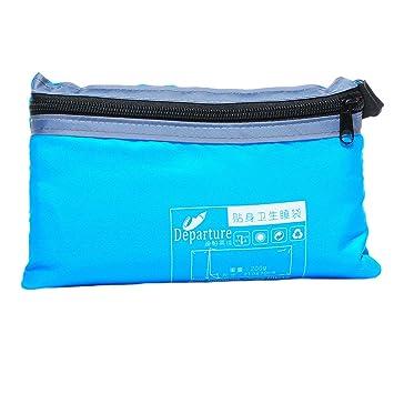 Saco de dormir Housweety modessimple transatlántico viaje dormir Mini portátil, azul: Amazon.es: Jardín