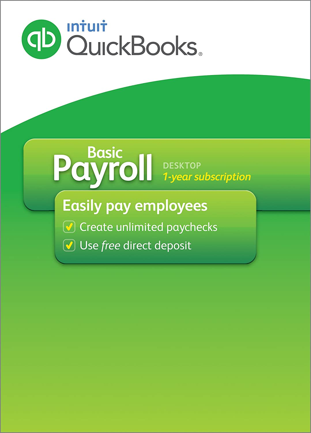 Amazon.com: Intuit QuickBooks Payrolll Basic 2016 [Old Version ...