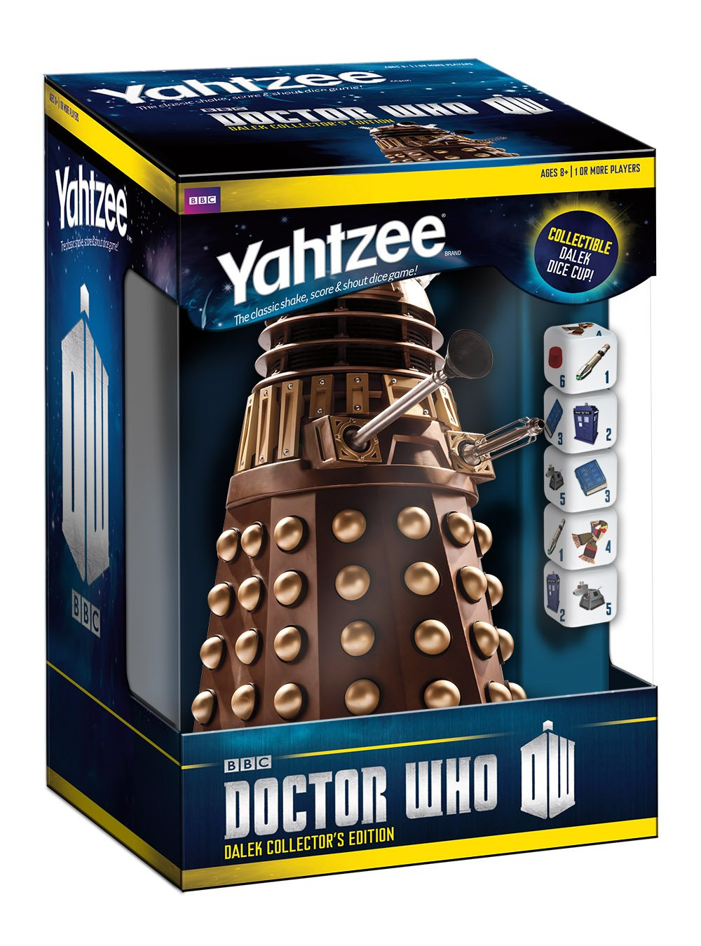 Doctor Who Dalek Yahtzee Collectors Edition Board Game