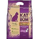 KatBom - Granulado Sanitário Natural - Cx com 6 pacotes, Marrom