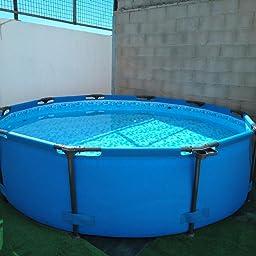 Bestway 56406 - Piscina Desmontable Tubular Steel Pro Max 305x76 cm: Amazon.es: Jardín